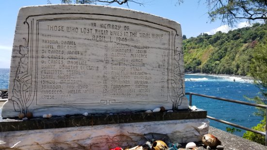 Laupahoehoe, Hawái: Memorial