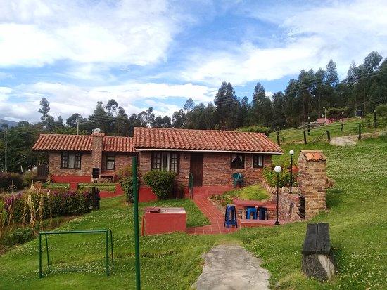 Tibasosa, كولومبيا: Un paraíso, remanso de paz y tranquilidad.