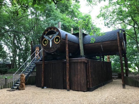 Chorleywood, UK: The Owl Lookout - spacious accommodation. All this is yours!