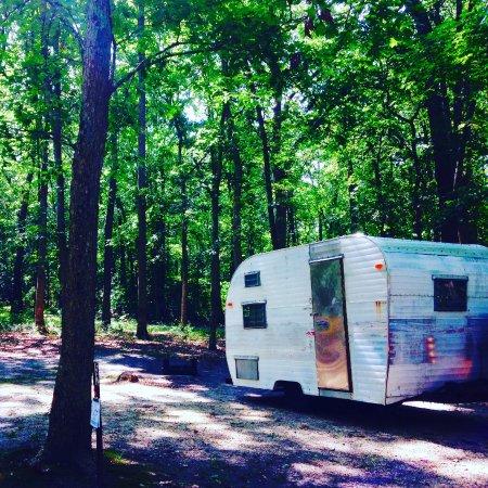 Farmingdale, Nueva Jersey: Camping Site #52 Allaire State Park