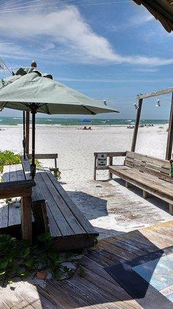 Sandbar Restaurant: Beach behind Sandbar Anna Maria Island, Fl