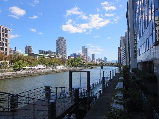 大阪水上バス, 乗船場です。
