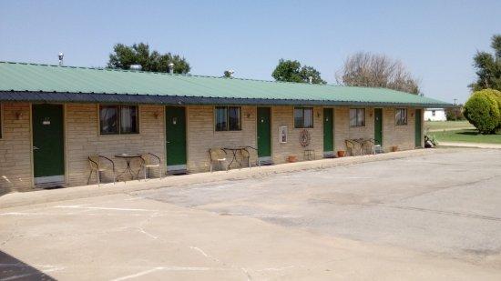 McLean, TX: Er waren deze avond 3 kamers bezet.