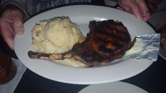 Lodi, WI: Blackened pork chop