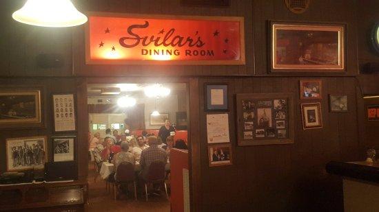 Svilar S Bar Dining Room Hudson Wy