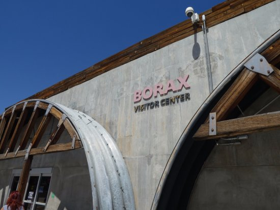 Boron, CA: Visitor Center
