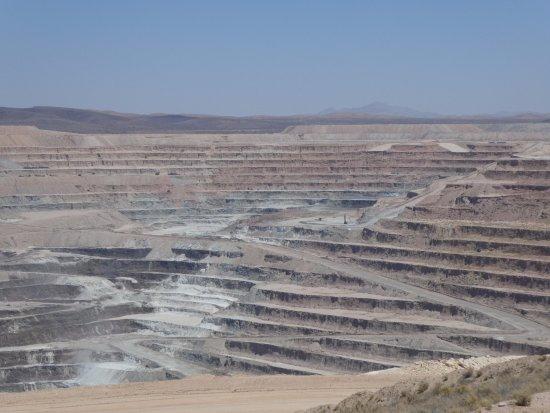 Boron, CA: Mining Pit