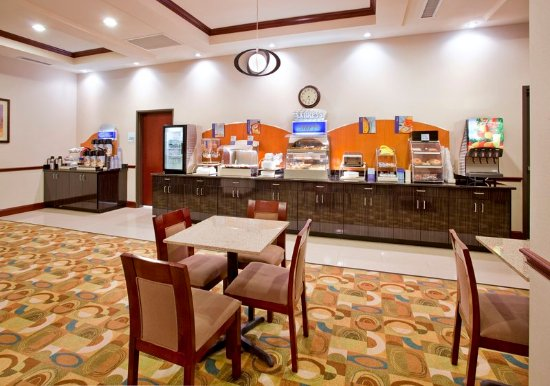 Holiday Inn Express Hotel & Suites Guthrie-North Edmond: Breakfast Area