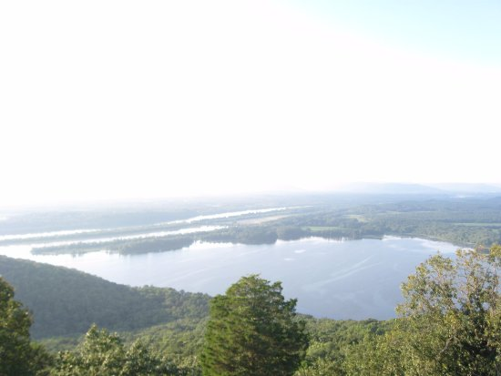 Pisgah, AL: Now that's a view! From the widow's walk atop the lodge.