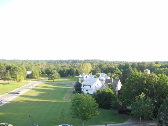 Pisgah, AL: Partial view of the community near the lodge.