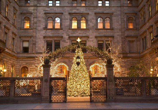 Lotte New York Palace : Holiday Courtyard