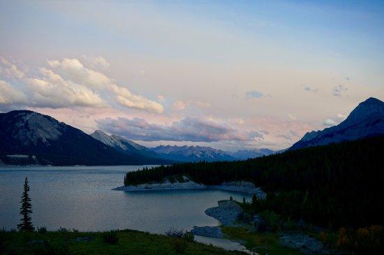 Abraham Lake ภาพถ่าย
