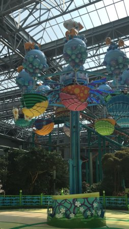 Looking Up Picture Of Nickelodeon Universe Bloomington