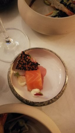 Hotel Heritage - Relais & Chateaux: Pre dinner 'snacks'