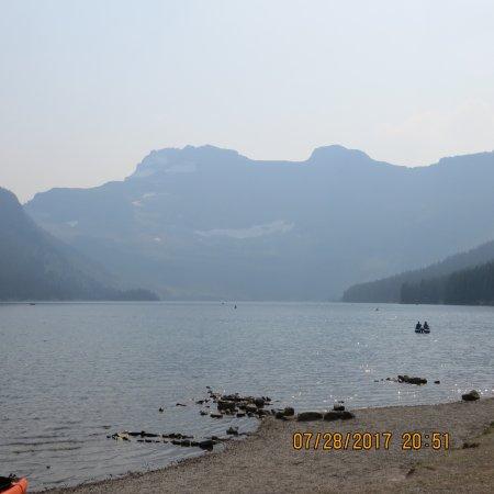 Cameron Lake: the lake