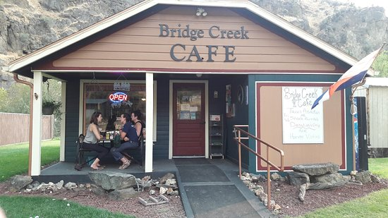 Mitchell, Oregón: Bridge Creek Cafe
