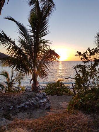 Kuata Island, ฟิจิ: View from room