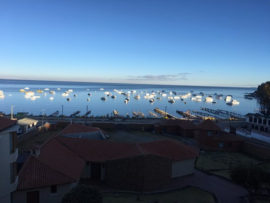Hotel Rosario Lago Titicaca: View from our room
