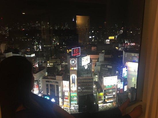 Shibuya Excel Hotel Tokyu : Quad Room with View