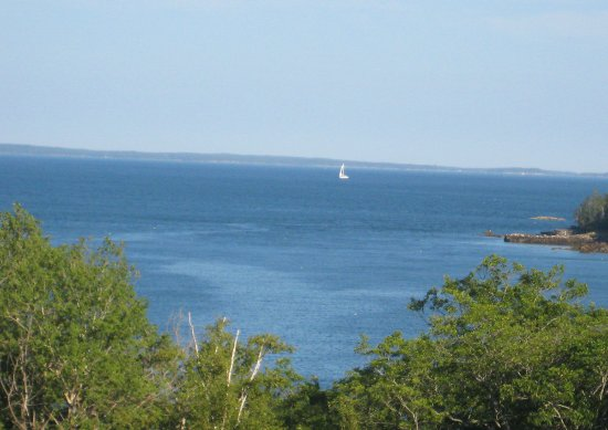 Ledges By the Bay: View from balcony of Penobscot Bay