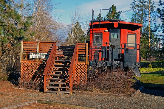 South Cle Elum, WA: Our Great Northern caboose Suite