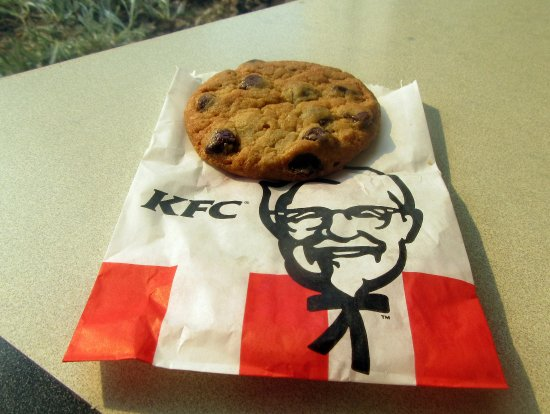 ‪‪Lockeford‬, كاليفورنيا: Chocolate Chip Cookie, KFC, Lockeford, CA‬