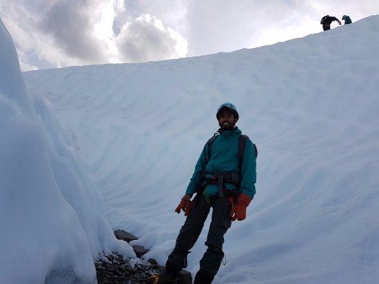 Glacier View, Аляска: Ice climbing