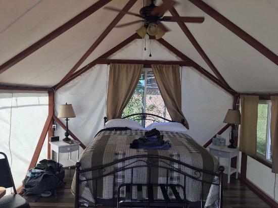 Mariposa Fair Bungalow Tent Cabins