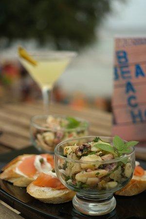 Vagia, Grekland: Beachside dining