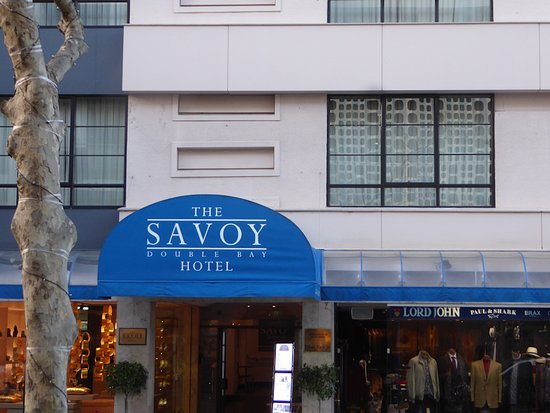 The Savoy Double Bay Hotel : The Savoy from Knox Street