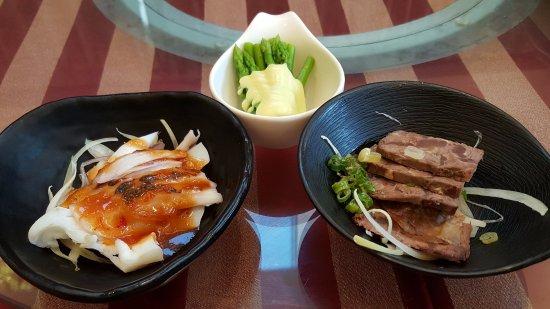 Asian Fusion Restaurant: 天地一家清新溫泉飯店