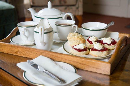 Gidleigh park cream tea