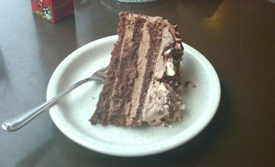 Iisalmi, Finlandia: шоколадный тортик