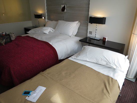 Sofitel Brussels Europe: extra bed room 622