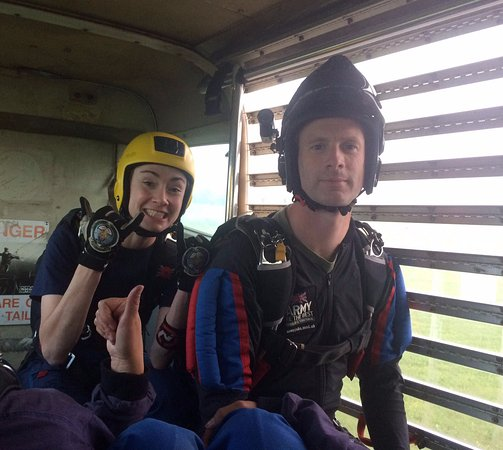 Netheravon, UK : The instructors!