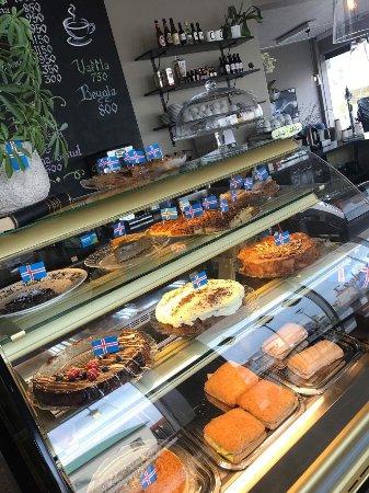 Akranes, Island: Lesbokin Cafe