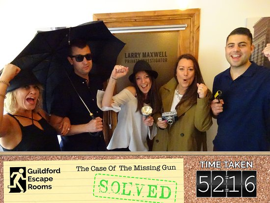 Paradox Parlours (formally Guildford Escape Rooms)
