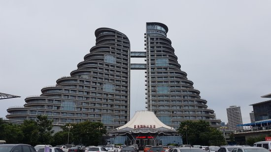 Rizhao, China: Nice on the outside, worn-out on the inside