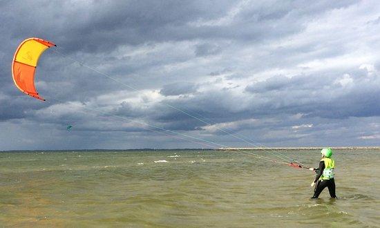 Karlshagen, Germany: Kitesurfen lernen, Ostsee, Usedom, Schöne Freizeit