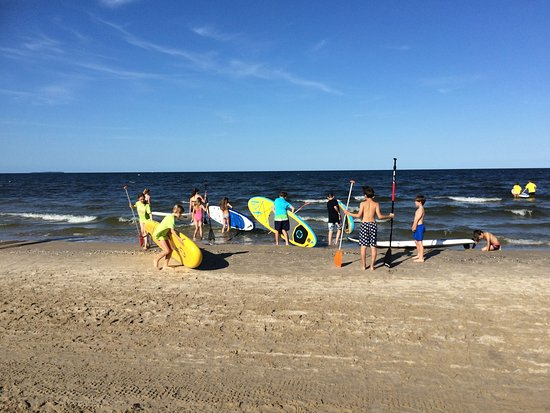 Stehpaddeln, Stand-Up-Paddling, Ostsee, Usedom, Surfschule Karlshagen