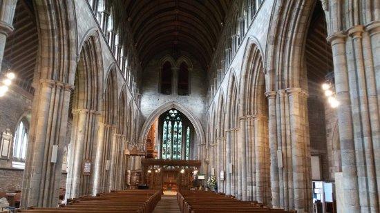 Dunblane Cathedral: Lo stile decisamente gotico!