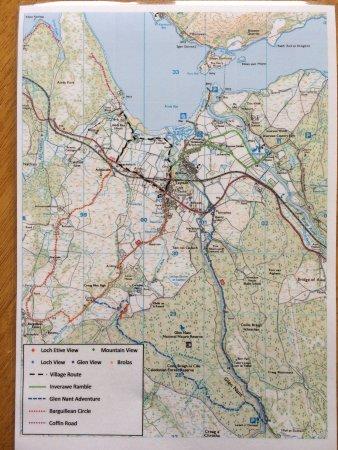 Taynuilt, UK: Wanderrouten
