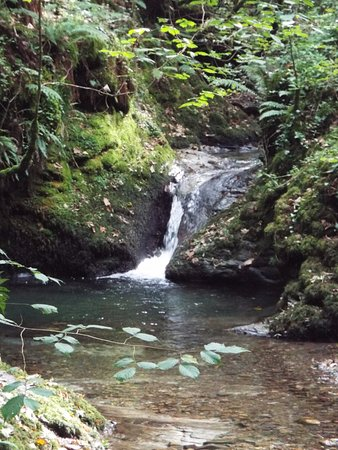 Lydford, UK: Numerous cascades and falls