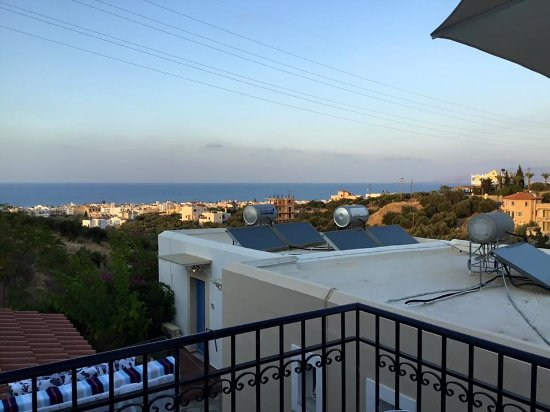 Lofos Apartments: View from Room 3 Balcony