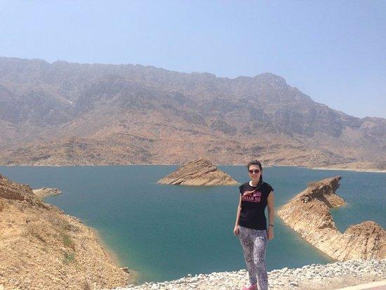 Wadi Dayqah Dam: Nice view