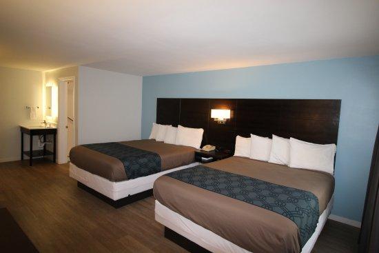 Econo Lodge Inn & Suites: Two Queen Beds, pet friendly
