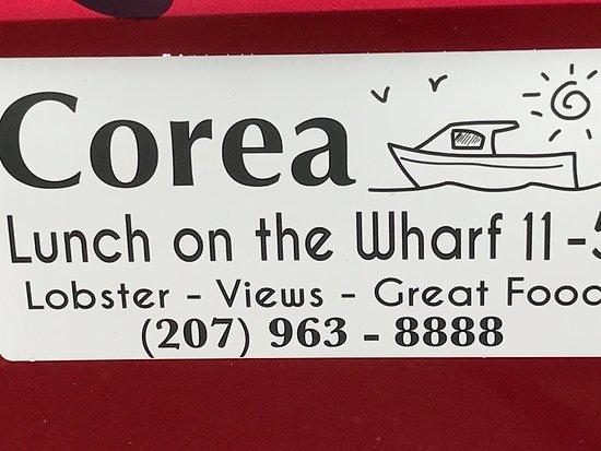 Corea, ME: Wharf Gallery & Grill