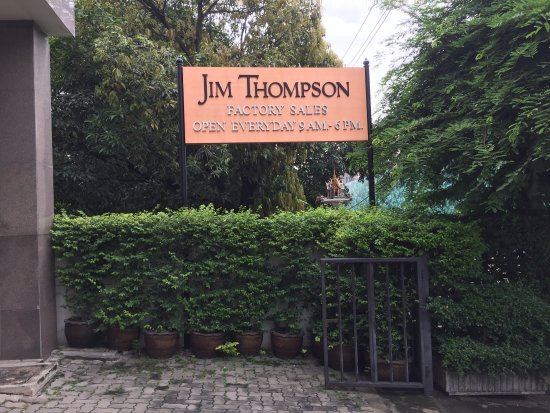 Jim Thompson Factory Soi 93 Outlet : photo1.jpg
