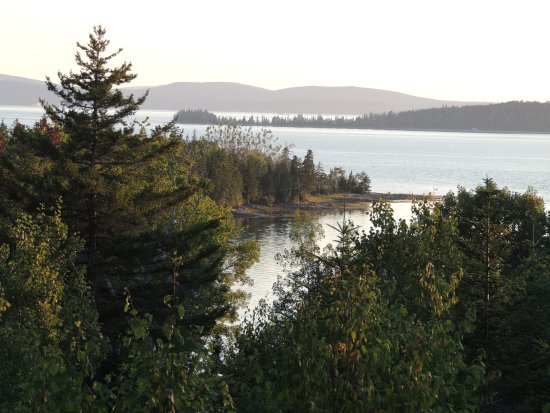 Gouldsboro, ME: view from the balcony