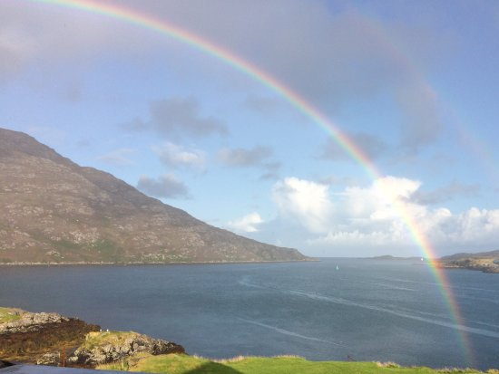 Lochboisdale, UK: View from the bedroom